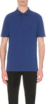 The Kooples Blue embroidered polo shirt