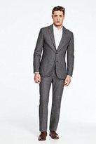Lands' End Men's Suit Jacket-Navy Mesh