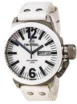 TW Steel Men's CE1037 CEO Canteen Leather Mother-Of-Pearl Dial Watch