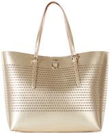 Karen Millen Metallic Tote Bag