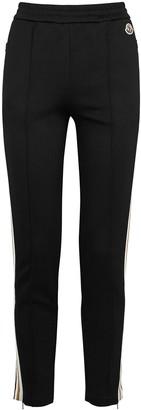 Moncler Black Jersey Sweatpants