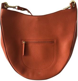 Celine Hobo Orange Leather Handbags