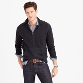 J.Crew Cotton-cashmere zip sweater-jacket