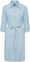 Culture Blue Striped Cuneva Shirt Dress - XS