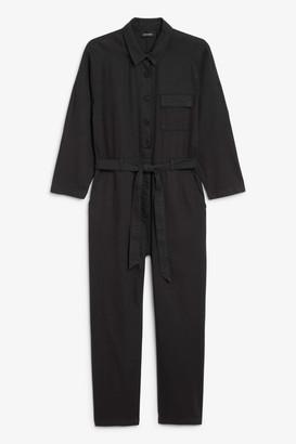 Monki Cotton flight suit
