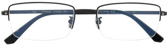 Cartier Santos de square-frame glasses