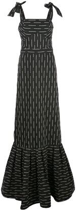 Alexis Symphony long fishtail gown