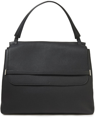The Row Pebbled-leather Shoulder Bag
