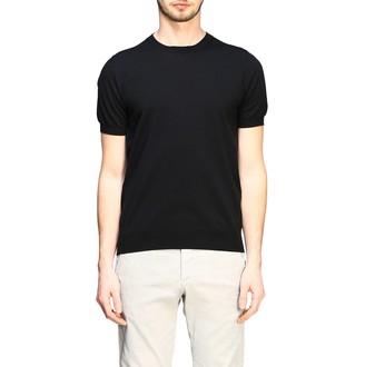 Paolo Pecora T-shirt Short-sleeved Basic Cotton Sweater