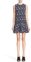 Tanya Taylor Women's 'Adalia' Floral Print Crepe Drop Waist Dress