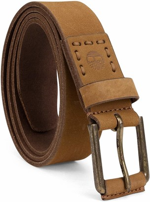 Timberland Men's Big and Tall 40mm Pull Up Big & Tall Leather Belt