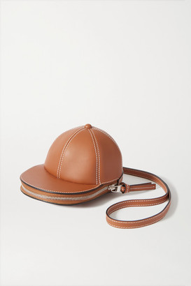 J.W.Anderson Cap Leather Shoulder Bag - Tan