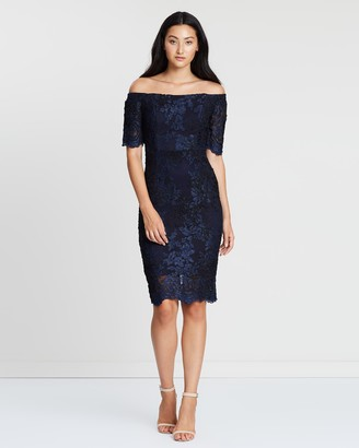 Montique Sabelle Tonal Lace Dress