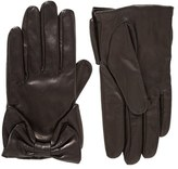 Kate Spade Dorothy Bow Leather Gloves