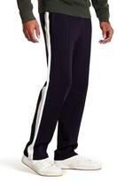 Vince Contrast Side Panel Knit Track Pants