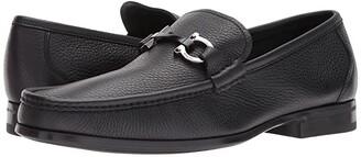Salvatore Ferragamo Grandioso Loafer (Nero) Men's Slip-on Dress Shoes