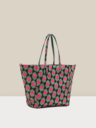 Diane von Furstenberg Darianna Reversible Leather-Blend Tote
