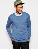Esprit Cotton Crew Neck Knitted Jumper - Blue