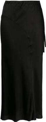 Ann Demeulemeester Lightweight Straight Skirt