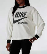 Nike Women's Sportswear Archive Crew Sweatshirt