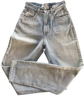 Fiorucci Blue Cotton Jeans for Women