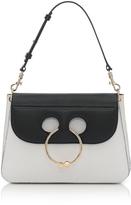 J.W.Anderson Black & White Medium Pierce Bag