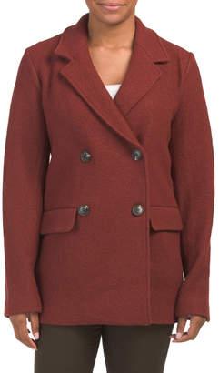 Double Breasted Blazer Coat