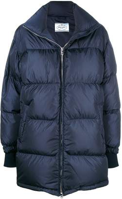 Prada shell puffer jacket