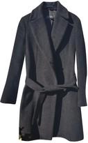 Alberto Biani Anthracite Wool Coat for Women