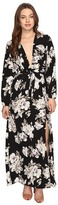 Brigitte Bailey Novalie Long Sleeve Wrap Dress Women's Dress