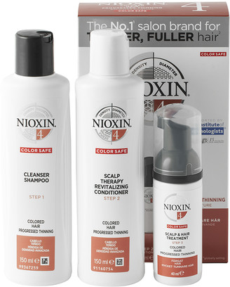 Nioxin System 4 Trial Kit for Coloured Hair with Progressed Thinning