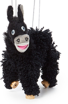Black Donkey Puppet