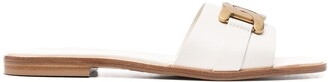Tod's Chain-Detail Mule Sandals