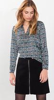 Esprit OUTLET satin print blouse