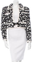 Chanel Paint Splatter Cropped Jacket