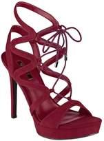 GUESS Women's Aurela Lace-Up Heels