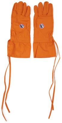 Raf Simons Orange Labo Gloves
