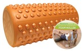 "Gaiam Restore 12"" Textured Foam Roller"