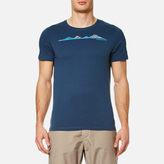Craghoppers Men's Eastlake Linear Landscape Short Sleeve T-Shirt