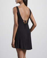 La Perla Looking 4 Love Sheer-Waist Chemise