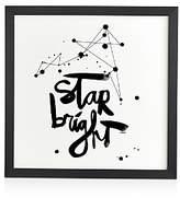 DENY Designs Kal Barteski Star Bright Framed Wall Art, 12 x 12