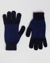 Ted Baker Gloves Herringbone