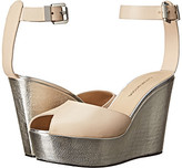 CNC Costume National Metallic Wedge Sandal