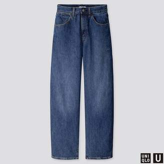 Uniqlo WOMEN U Wide Fit Curved Jeans