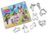 Cooksmart Kids 8-Piece Cookie Cutter Set Princess