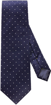 Eton Men's Polka Dot Silk Tie