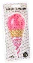 DOIY Rubber Band Ice Cream Ball, Pink