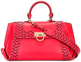 Salvatore Ferragamo Sofia internal clutch tote - women - Nappa Leather - One Size