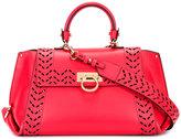 Salvatore Ferragamo Sofia internal clutch tote - women - Nappa Leather - One Size