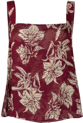 Dorothee Schumacher Fringed Floral-Print Blouse